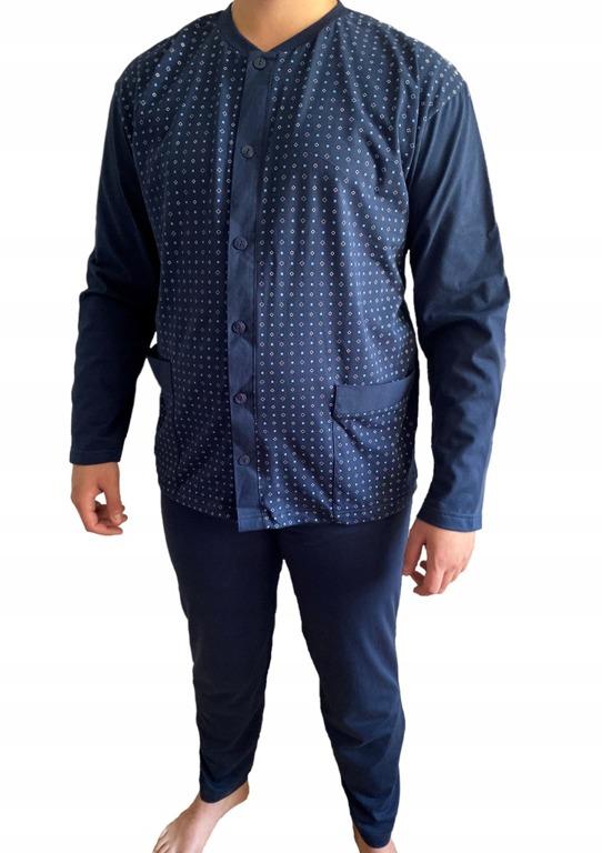 piżama męska ARNI - GRANAT 6XL-7XL