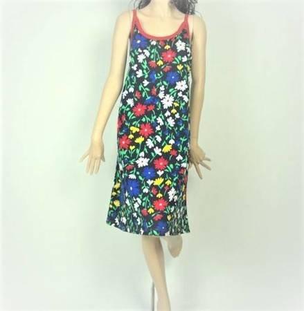 Sukienka Plażowa Bawełna POLNE KWIATY 1 1XL