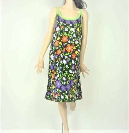 Sukienka Plażowa Bawełna POLNE KWIATY 2 L