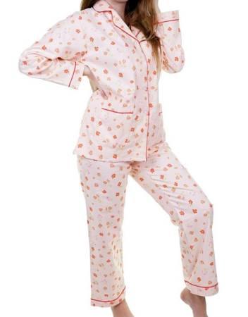 piżama damska tradycyjna FLANELOWA MORELA M-XXXL