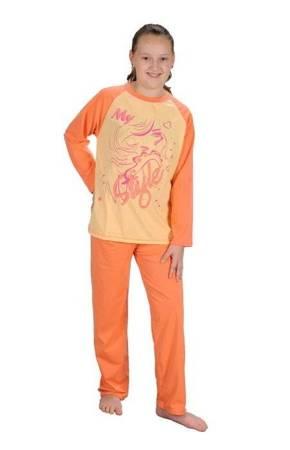 piżamka dziewczęca OCIEPLANA MORELA 86 cm - 158 cm